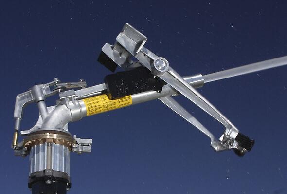 Оригинальный разбрызгиватель BigGun® в полной мере обеспечивает эффективную производительность и долговечность.