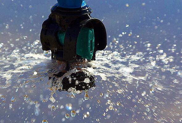 Nelson Bubbler wide center pivot sprinkler