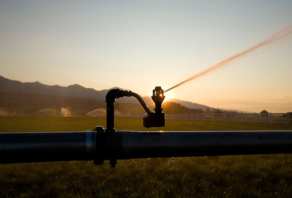 Better than brass: Rotator® Sprinklers like the R33 are made of field-proven plastics.
