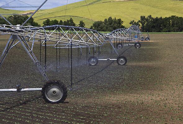 Nelson Irrigation sprinkler dry wheel track options